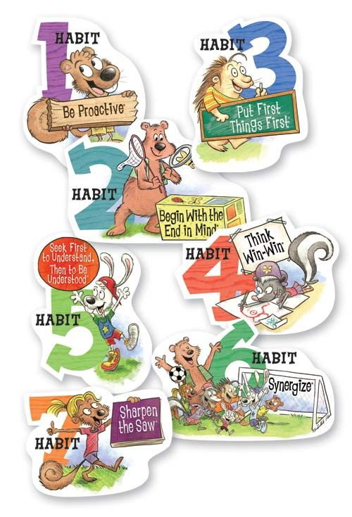 Great website with lots of lesson ideas for teaching each of the habits.  I'm using is this week to introduce them!