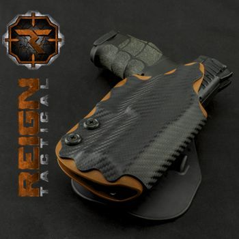 We build the best looking Kydex holsters on the market and back them with a Lifetime Warranty. Also offering Inforce, Streamlight, Surefire and Viridian products.