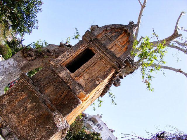 King's Tomb, #Kaş, #Turkey #Antalya