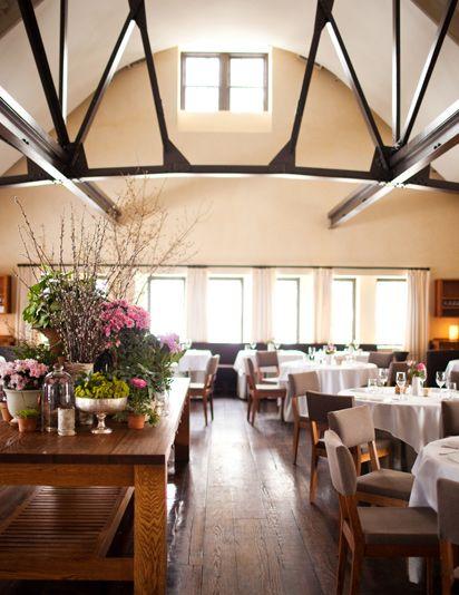 Blue Hill at Stone Barns - a beautiful restaurant