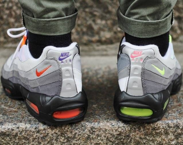 Air Max 95 Greedy On Feet
