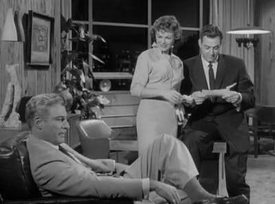 Raymond Burr, Barbara Hale, and William Hopper in Perry Mason