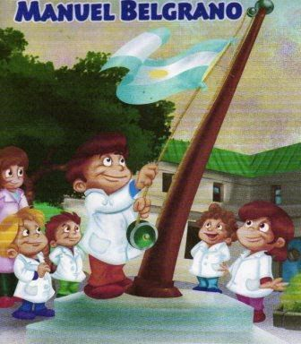 Resultado de imagen para Imagenes comics del dia de la bandera argentina