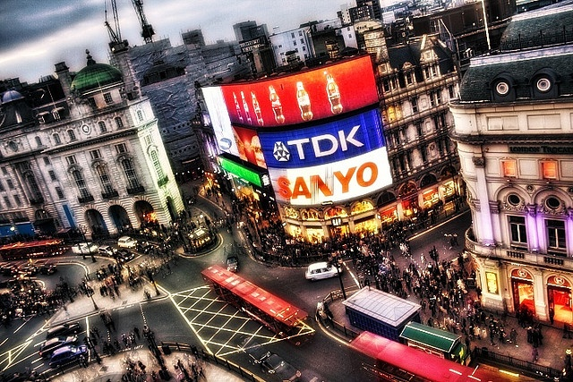 Piccadilly Circus by clry2, via Flickr