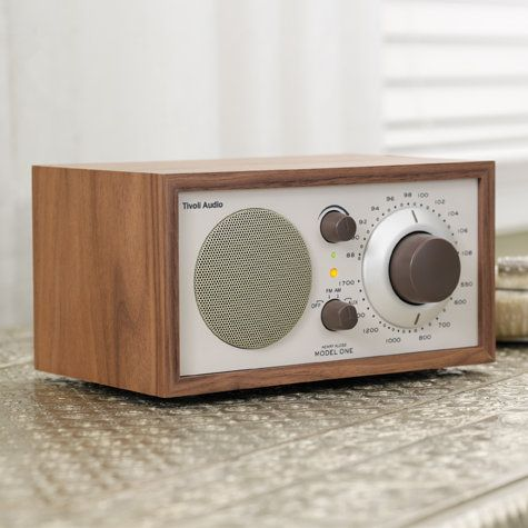 Tivoli Audio Model One® AM/FM Table Radio & Tivoli Stereos | YLiving