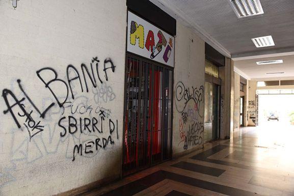 Arezzo è abbastanza degradata…