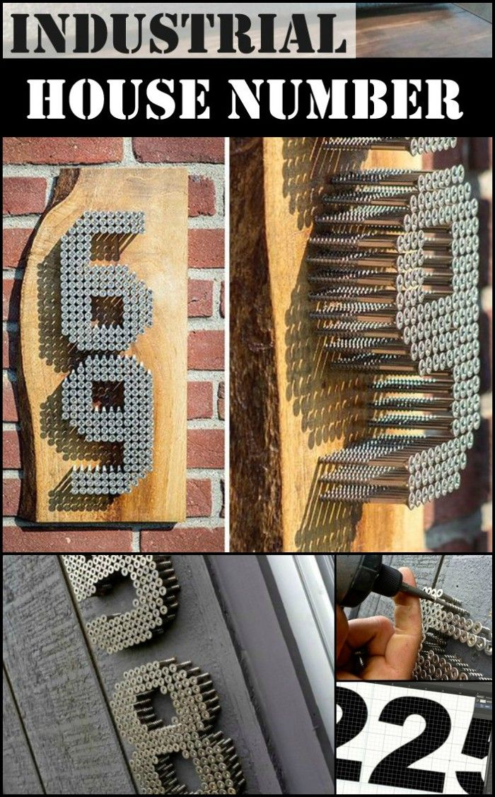 How to Make a Secure Industrial House Number Sign