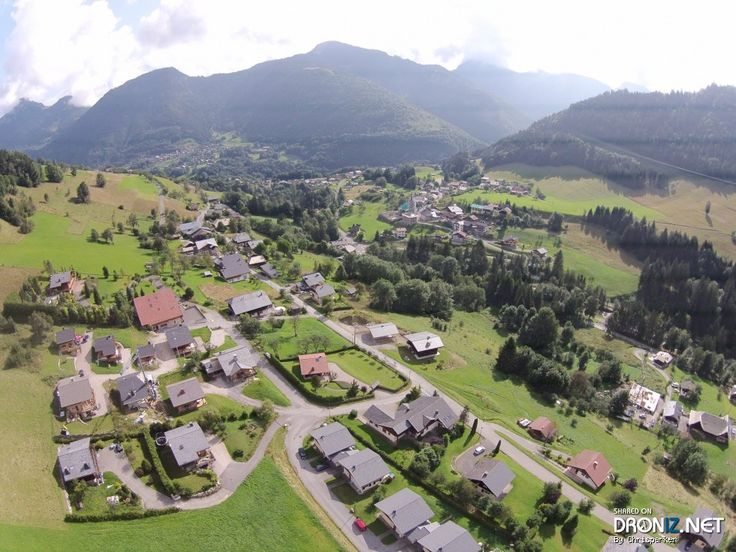 Aerial drone Photo from France by Chrisparker : Voie Communale N°7, 74430 Seytroux, France