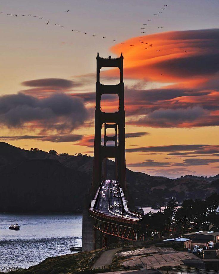 San Francisco California by Chris Henderson #sanfrancisco #sf #bayarea #alwayssf #goldengatebridge #goldengate #alcatraz #california