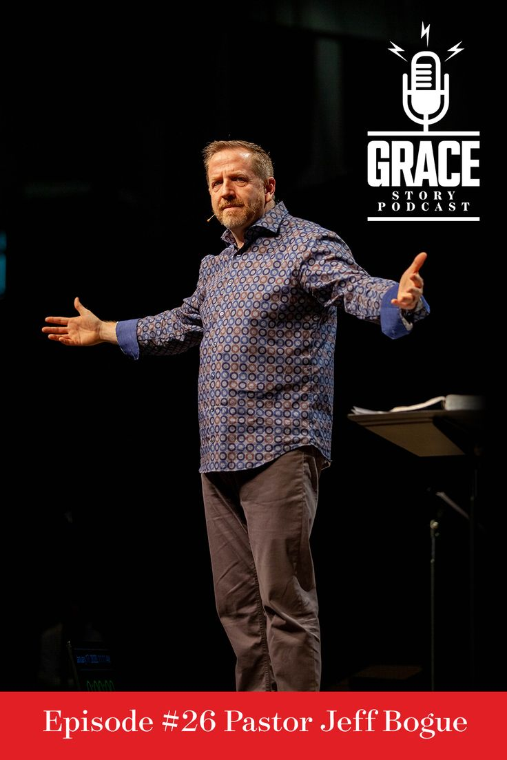 Jeff Bogue, pastor of Grace Church in Akron, OH, recently