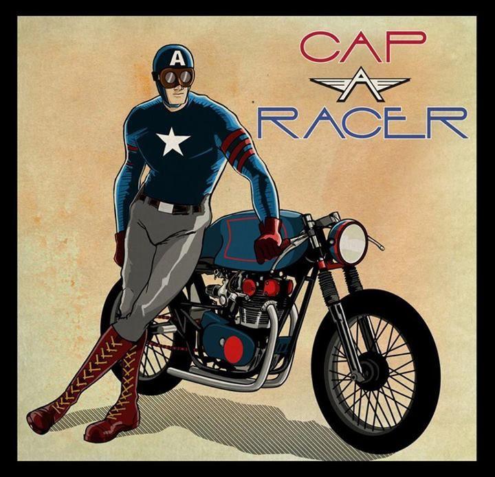 Cafe Racers, Artwork & Artists