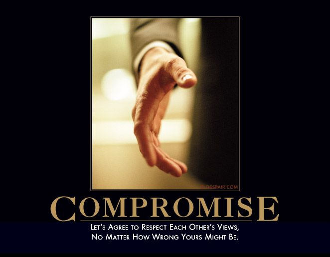 exactlyCompromise, Demotivational Posters