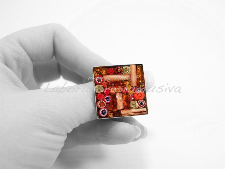 Anelli - Gioielli in mosaico   Laboratorio la Musiva - www.laboratoriolamusiva.com
