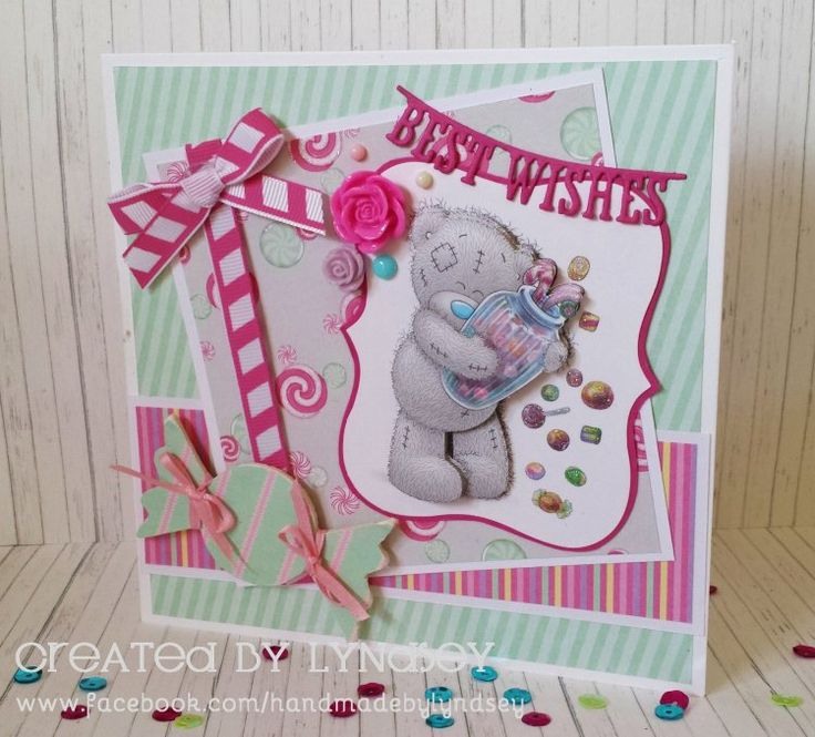 Cute card - me to you sweet shop collection from @trimcraft