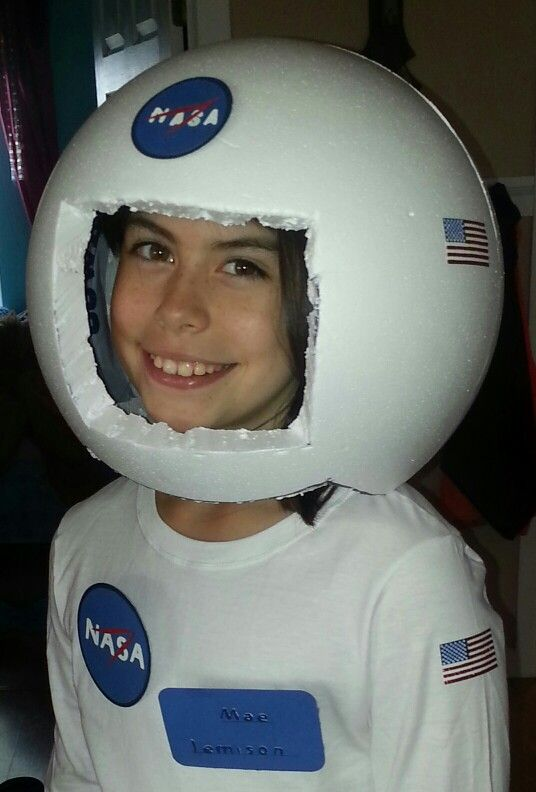 make your own astronaut helmet costume - photo #4