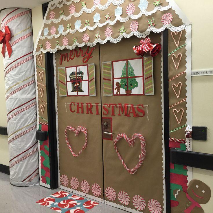 9 best Gingerbread Door Decorations images on Pinterest ...