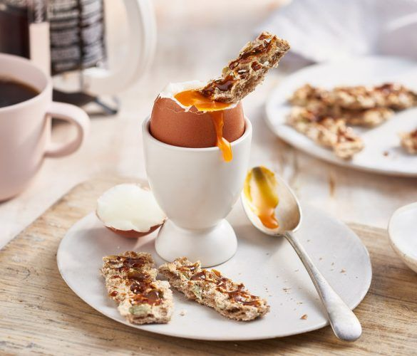 Davina's Dippy Egg and Marmite Soldiers