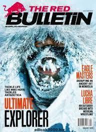 #Magazine #Covers #TheRedBulletin #Mongolia #Eagles #Bonding #April #2017