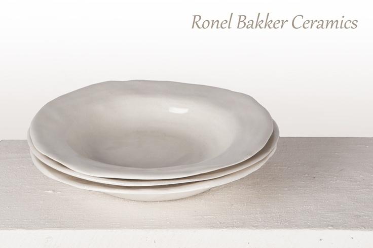 http://about.me/ronelbakker.  handmade white soup bowl