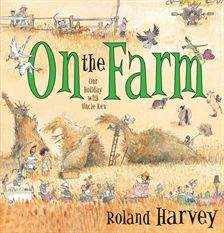 Detail! Detail! Any illustration within any of Roland Harvey's books can lead to hours of fascination. From the beach, to the bush, into the city, up to the top end and across to Western Australia, or simply down on the farm ... Henry, where's Uncle Kev?