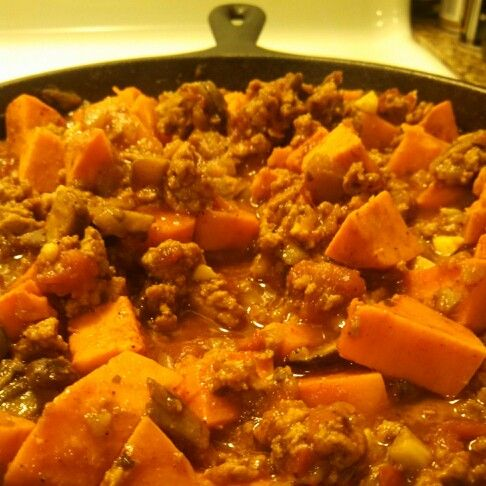 Paleo Butternut Squash and Turkey Chili