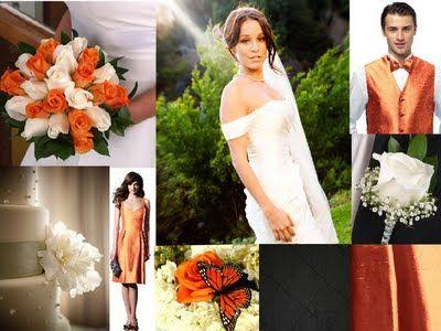 #wedding #bride #bridal #orange #white #knoxville