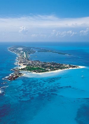Isla Mujeres in the Mexican Caribbean - 30th birthday!