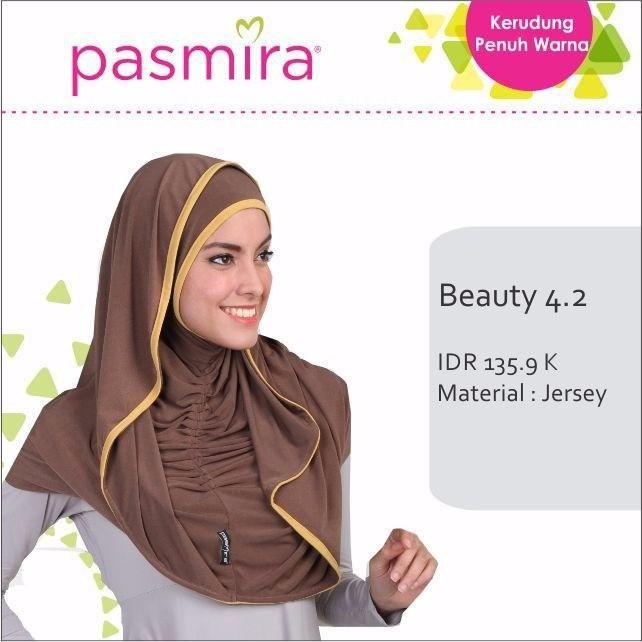 Hijab Instan Beauty 4.2 Pasmira Assalamualaikum bunda, sista dan ukhti cantik yang sholihah  Kabar Gembira Kini tersedia koleksi hijab instan beauty 4.2 persembahan dari pasmira.   #Bahan Jersey #Bergo #Hijab #Hijab Terbaru #Jilbab #Jilbab Terbaru #Pasmira
