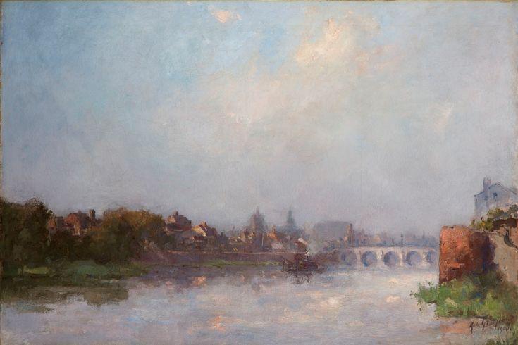 Zicht op Maastricht, Rob Graafland 1906.