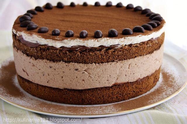 """423. Торт """"Шоколадно- муссовый"""""""