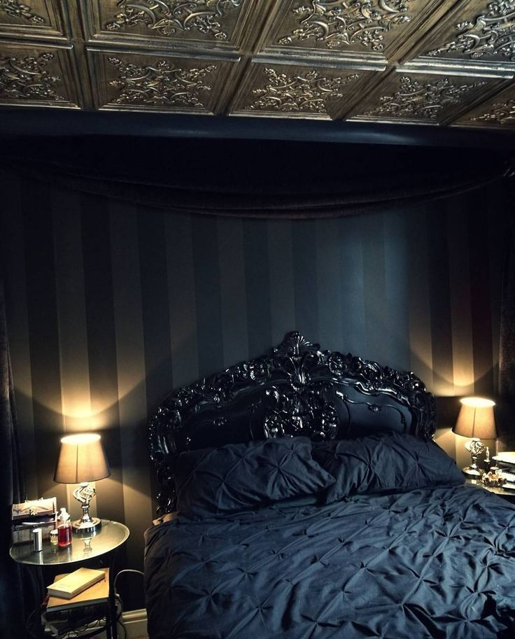Best 25 Goth Bedroom Ideas On Pinterest