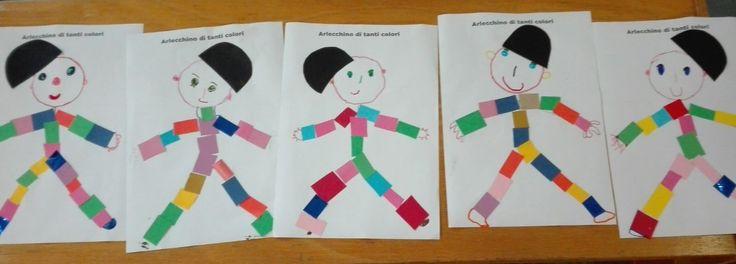 Un Arlecchino di tanti colori! http://libriscrittorilettori.altervista.org/4011-2/ #arlecchino #carnevale #scuola #bambini #scuola #mamme