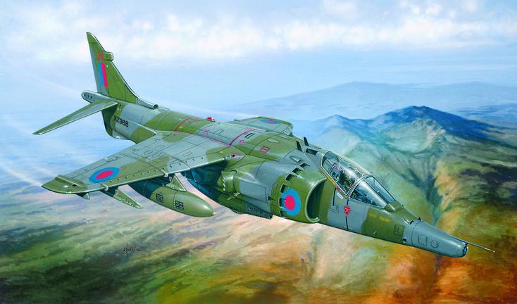 BAe Harrier GR Mk 3, Falklands War, 1982 (Tiziano Gollini)