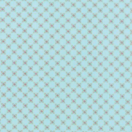 MKS2898-20 Kindred Spirits Aqua by Bunny Hill Designs // Moda at Juberry Fabric