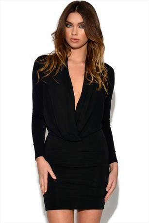 Just had to pin this Cowl Neck Dress from www.vestryonline.com/