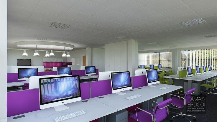 UK, London, England, 3D, visualisation, Office, furniture, conference