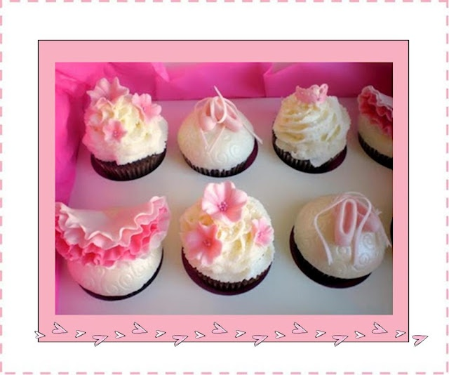 Ballerina cupcakes with ballet shoes, tutus and flowers. We've gathered up a lot of fun ideas for a little girl's birthday partyBallerinas Cupcakes, Birthday Parties Get, Ballerinas Birthday, Girls Birthday Parties, Ballet Cupcakes, Birthday Partyget, Ballet Shoes, Birthday Ideas, Ballerinas Parties