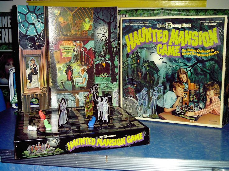 Wish I still had this - some things you regret throwing away (Vintage Disney Haunted Mansion Game)