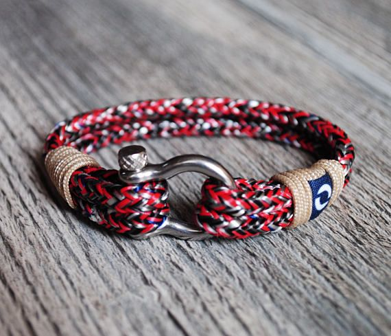 Red Rope Bracelet Red Cord Bracelet Beautiful Womens