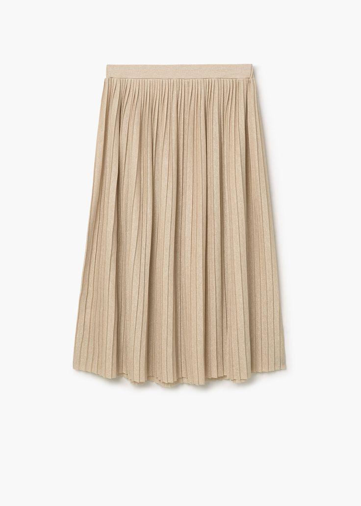26€ Falda plisada   MANGO