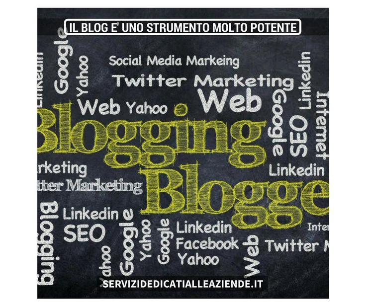 Per una #presenzaonlineefficace il blog è un ottimo strumento di #webmarketing. #marketingformativo