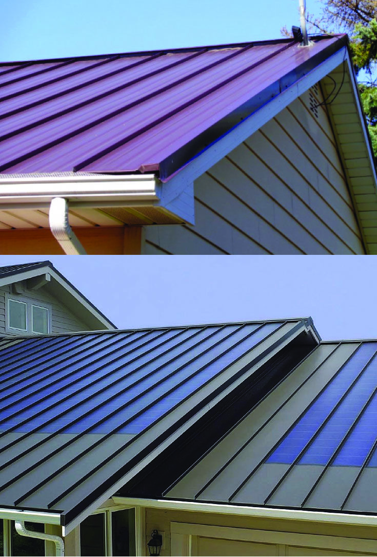 Metal Roofing Homes Tre Metal Roof Roof Design Roofing