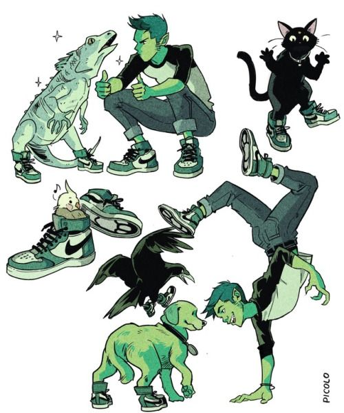 Beast Boy & Favorite Pair of Nikes - Gabriel Picolo