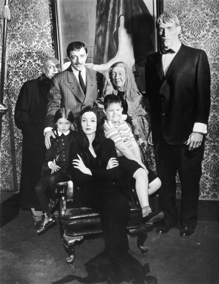 the addams family, television