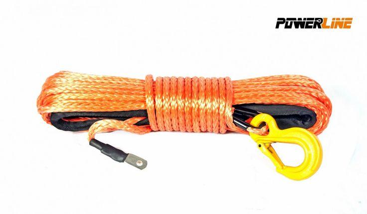 Corde synthétique Orange pour treuil diam. 8mm x 28m avec crochet -   ref: PLN8x28KH-0   Corde synthétique Powerwinch pour treuil, diamètre 8mm., Longueur 28m couleur: orangevendu avec crochet jaune ou rouge Montage sur treuil -de 4000 kg   #treuil #treuil74 #Cordes Synthétiques treuils #4X4 #quad #SSV  http://www.treuil74.fr/4x4/11897-corde-synthetique-orange-pour-treuil-diam-8mm-x-28m-avec-crochet.html  15%---159,00 €
