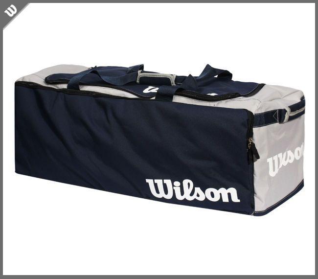 Wilson Team Gear Equipment Bag Football Baseball Sports Outfit Navy NWT A9705 #Wilson