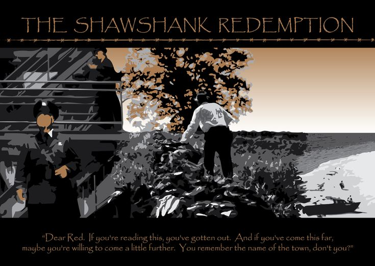 shawshank redemption use of symbolism The famous oak tree from the end of the shawshank redemption was  fans of  the film and the mighty oak can rest assured that the symbol of.