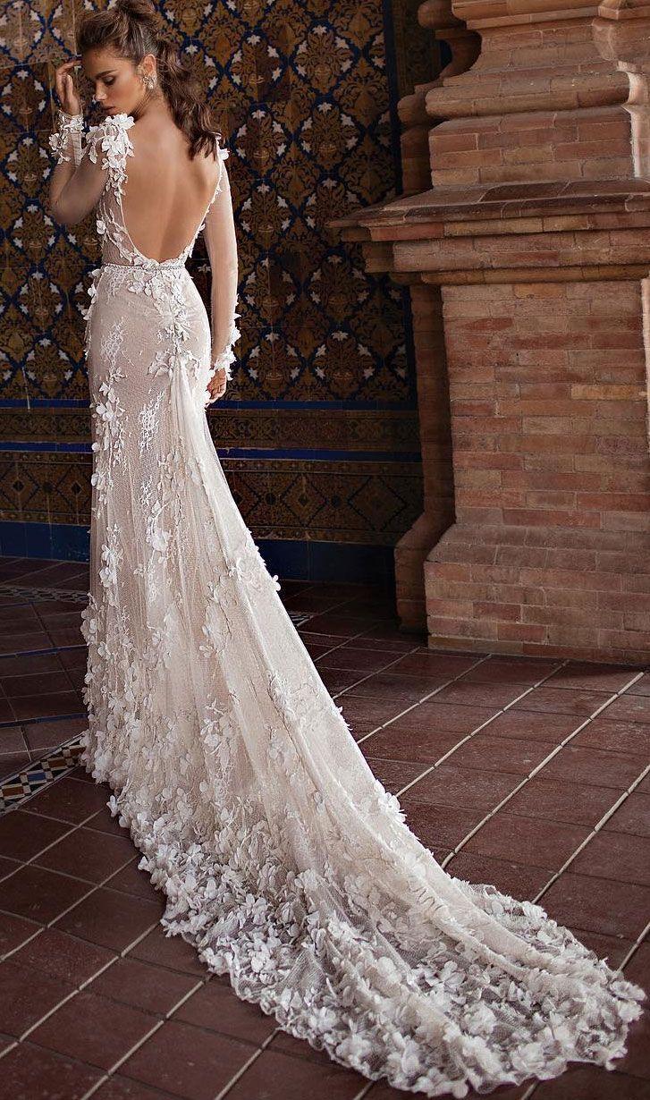 25 Gorgeous 3d Floral Applique Wedding Dresses Perfect For