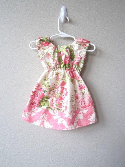 Baby Girl Dress Rose Garden