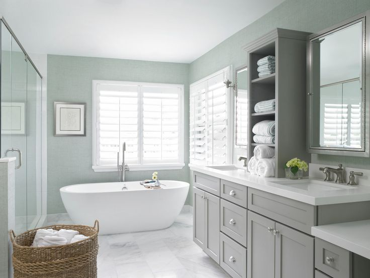 Bathroom Cabinet Paint with Beach Style Countertop Cabinet - Bathroom Cabinets
